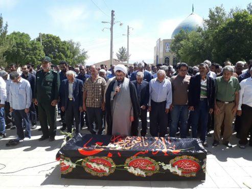 پدر بزرگوار شهید مفقودالاثر جعفر بیگی در رفسنجان درگذشت / تصاویر