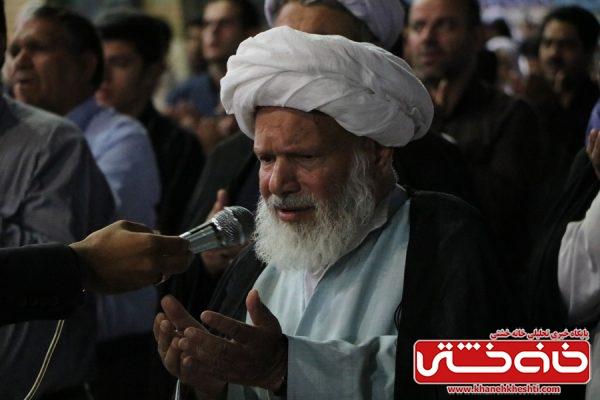 شب نوزدهم ماه مبارک رمضان سال 97 در مسجد جامع شهرستان رفسنجان