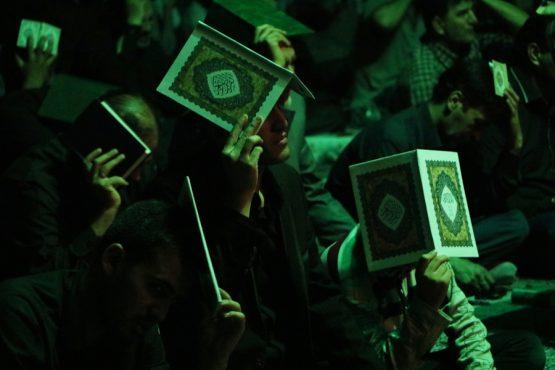 حال و هوای اولین شب قدر در رفسنجان + تصاویر
