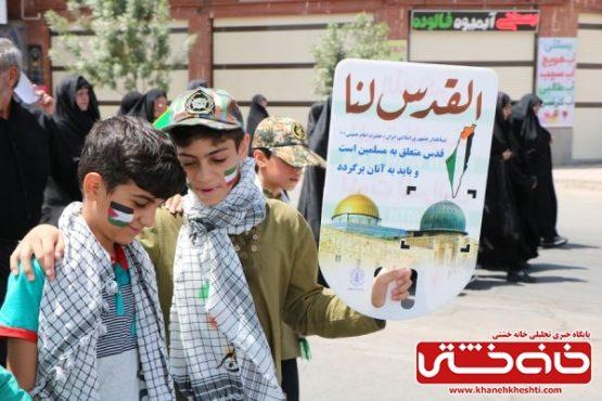 خروش مردم سرزمین طلای سبز در راهپیمایی روز جهانی قدس / گزارش تصویری(۲)