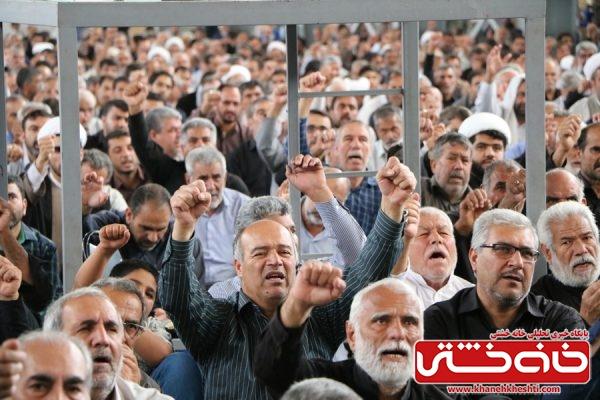 شرکت مردم روزهدار و همیشه در صحنه رفسنجان در مراسم راهپیمایی روز جهانی قدس و نماز شکوهمند جمعه شرکت مردم روزهدار و همیشه در صحنه رفسنجان در مراسم راهپیمایی روز جهانی قدس و نماز شکوهمند جمعه
