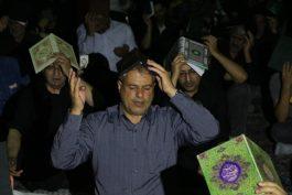 ندای «الغوث» مردم رفسنجان در دومین شب از لیالی قدر در شهر طنینانداز شد + تصاویر
