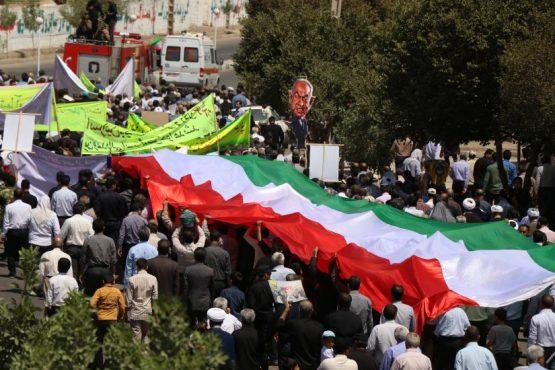 مسیر راهپیمایی روز جهانی قدس در رفسنجان تعیین شد