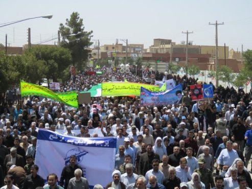 دعوت امام جمعه و فرماندار رفسنجان برای حضور در راهپیمایی روز جهانی قدس