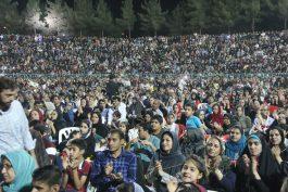 جشن عید سعید فطر در رفسنجان برگزار شد/تصاویر