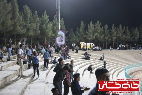 پخش مستقیم بازی فوتبال «ایران - اسپانیا» در مجموعه فرهنگی ورزشی آیت ا... هاشمی رفسنجانی