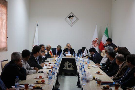 جلسه بررسی مشکلات صنعت شهرستان رفسنجان در منطقه ویژه اقتصادی برگزار شد/گزارش تصویری