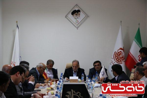 نشست بررسی مشکلات صنعت شهرستان رفسنجان در منطقه ویژه اقتصادی رفسنجان