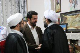 دیدار معاون استاندار و مسئولین رفسنجان با امام جمعه / تصاویر