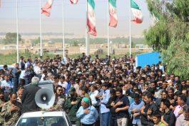 پدر سردار شهید حاج علی محمدی پور به فرزند شهیدش پیوست / تصاویر