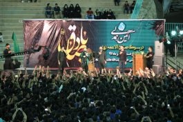 شام عزای امام صادق(ع) در رفسنجان برپا شد / تصاویر