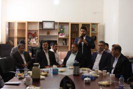 دیدار صنعتگران رفسنجان با نماینده / تصاویر