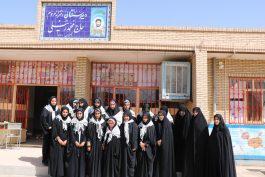 دختران جهادی در رفسنجان: از اردوهای جهادی درس زندگی می آموزیم + تصاویر