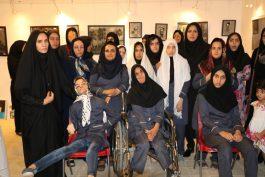 افتتاح نمایشگاه صنایع دستی دختران معلول بالای 14 سال در رفسنجان