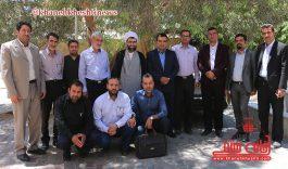 دیدار جمعی از اصحاب رسانه با امام جمعه شهرستان رفسنجان + تصاویر