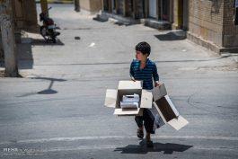 ساماندهی کودکان کار و خیابانی طرحی نو بر چهره ی شهر رفسنجان