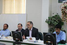 نشست خبری رئیس موسسه تحقیقات پسته کشور در رفسنجان / تصاویر