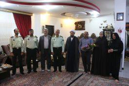 دیدار فرمانده و جانشین انتظامی رفسنجان با آزادگان / تصاویر