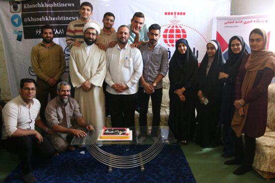 تولد مدیر مسئول خانه خشتی در جمع خبرنگاران این پایگاه خبری / گزارش تصویری