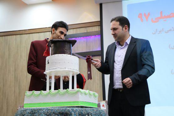 جشن فارغ التحصیلی دانشجویان دانشگاه پیام نور رفسنجان برگزار شد / تصاویر
