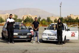 موفقیت دو اتومبیلران رفسنجانی در سومین دوره مسابقات اتومبیلرانی اسلالوم قهرمانی کشور