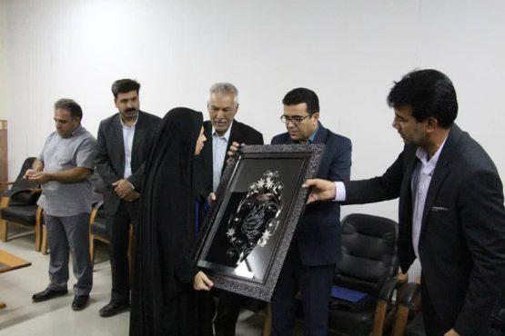 تقدیر موکب خاتم الانبیاء رفسنجان از خبرنگاران / عکس