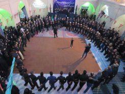 چهارمین سالروز ثبت ملی جوش زنی ایران در هرمزآباد رفسنجان برگزار شد / عکس