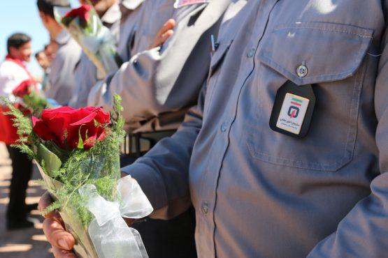 تقدیر از آتش نشانان رفسنجان به مناسبت روز ایمنی و آتش نشانی / تصاویر
