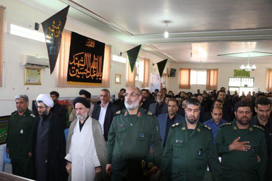 معارفه فرمانده جدید سپاه رفسنجان / گزارش تصویری