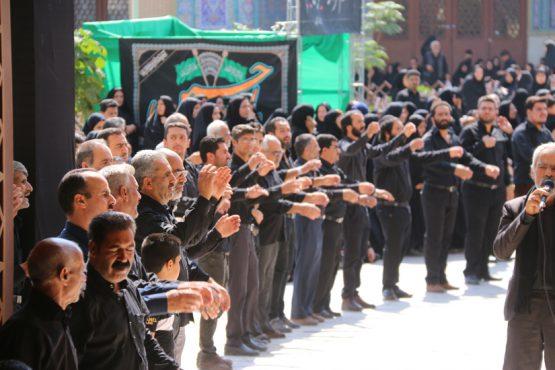 تجمع هیئت های مذهبی رفسنجان در تاسوعای حسینی/تصاویر