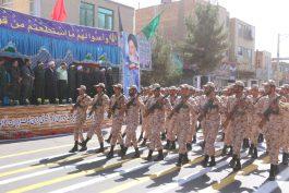 یگان های نظامی و انتظامی شهرستان رفسنجان رژه رفتند / تصاویر