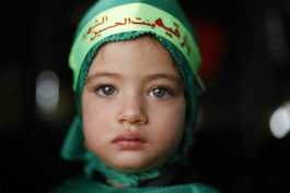 همایش شیرخوارگان حسینی در معراج شهدا حسینیه ثارلله رفسنجان /عکس