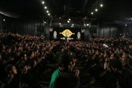 مراسم عزاداری شب تاسوعای حسینی در حسینیه نخل رفسنجان / تصاویر