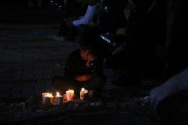 شام غریبان در هیات طفلان مسلم رفسنجان / عکس