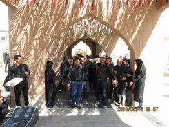 پیکر پدر شهید عباس عباس ابادی در رفسنجان تشییع و خاکسپاری شد/عکس