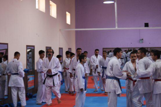 رفسنجان برای دومین سال پیاپی میزبان اردوی تیم ملی نونهالان کاراته شد / تصاویر