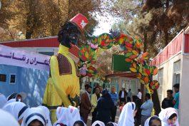 جشنواره کودک در پارک ترافیک رفسنجان برپا شد / تصاویر