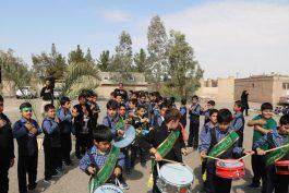 عزاداری بی تکلف دانش آموزان دبستان حکمت رفسنجان در سوگ حضرت رقیه(س) / عکس
