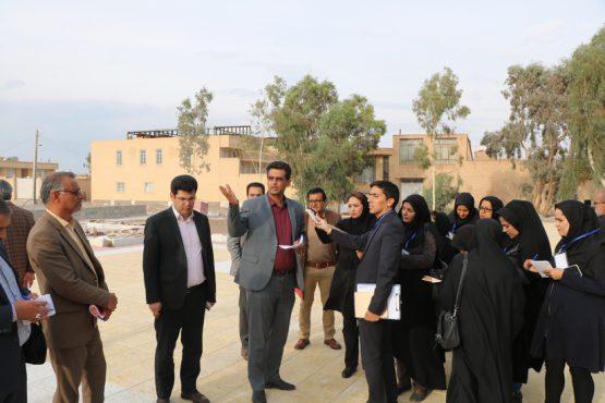 تور بازدید از خبرنگاران رفسنجان از پروژه های شهرداری / تصاویر