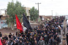 پیاده روی جاماندگان اربعین حسینی در رفسنجان / گزارش تصویری