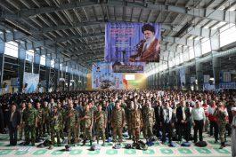 اجتماع باشکوه بسیجیان در رفسنجان برگزار شد / تصاویر