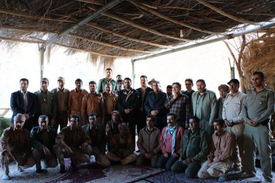 سفر یک روزه ی معاون سازمان محیط زیست به قرق اختصاصی منصور آباد رفسنجان / تصاویر