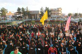 اجتماع بزرگ مردمی بیعت با امام عصر در رفسنجان / تصاویر