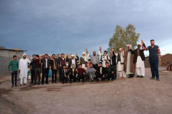 دیدار خادمین هیات انقلابی میثاق باشهدا با علمای اهل سنت در رفسنجان / عکس