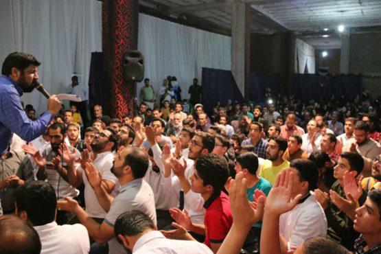 جشن میلاد پیامبر اکرم(ص) در حسینیه نخل رفسنجان برگزار شد / عکس