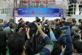 سالن ورزشی 9 دی رفسنجان با حضور وزیر ورزش و جوانان افتتاح شد / عکس