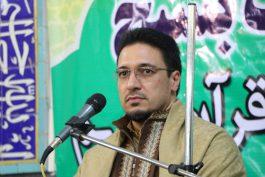 اولین کرسی تلاوت بسیج با تلاوت زیبای حمید شاکرنژاد در رفسنجان برگزار شد / تصاویر