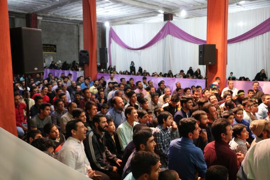 جشن میلاد امام حسن عسکری(ع) در حسینیه نخل رفسنجان برپا شد / گزارش تصویری