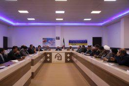 شورای فرهنگ عمومی شهرستان رفسنجان با موضوع حماسه ۹دی تشکیل جلسه داد / عکس