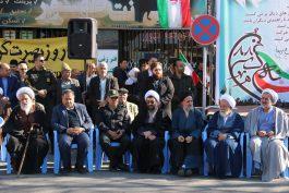 مسئولینی که در بزرگداشت حماسه ۹ دی در رفسنجان شرکت کردند / عکس